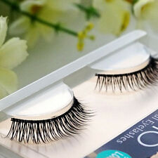 1 Pair Natural Cross Short Thick False Eyelashes Charming Fake Eye Lashes Makeup