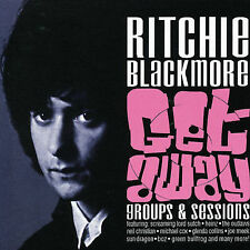 RITCHIE BLACKMORE - Get Away: Groups & Sessions 2 CDs OOP Deep Purple