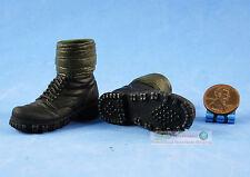 Figur 1/6 WW2 Deutsche Mountain Division Handschar Kommandant Boots Shoes FH_6D