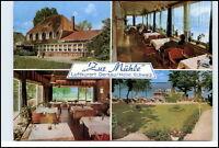 2323 DERSAU Mehrbild-AK Hotel Pension ZUR MÜHLE 4 color Echtfoto-Ansichten 1979