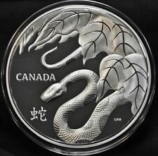 2013 Canada $250 One Kilogram Fine Silver Coin - Snake