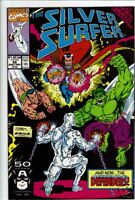 Silver Surfer comic #58 1991 Infinity Gauntlet x-over
