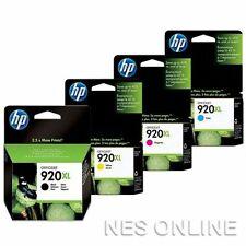 HP Genuine 920XL Set of 4xInk Cartridges->Officejet 6000/6500A/7000/7500A 920 XL