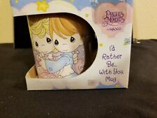 "Precious Moments Enesco 1996 ""I'd Rather Be With You"" Coffee Mug -"