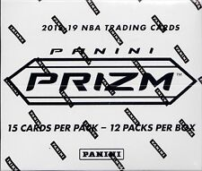 PRIZM 2018-19 BASKETBALL RETAIL CELLO FACTORY SEALED 12 COUNT MULTI FAT PACK BOX