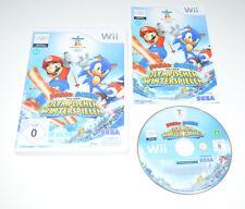 Nintendo Wii Spiel MARIO & SONIC BEI DEN OLYMPISCHEN WINTERSPIELEN