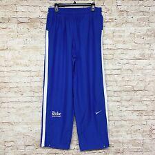 Nike Team Sports Mens Duke Blue Devils Wrestling Windsuit Pants Size L Blue NWT