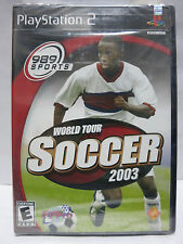 World Tour Soccer 2003 PS2 (Sony PlayStation 2, 2003) Brand New Factory Sealed