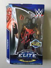 WWE Mattel Elite Flashback VADER Autographed Signed Wrestling Figure WWF WCW