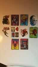1990's Marvel/DC prism sticker set. (10)