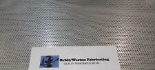 "=11 Gauge (1/8"")- 1/8"" Holes 304 Stainless Perforated Sheet 10-7/8"" x 11-3/4""="