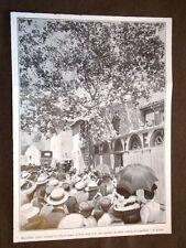 Rivolta del vino a Narbona nel 1907 Marcellino Albert arringa folla a Argelliers
