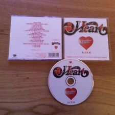 HEART - ANN & NANCY WILSON - DREAMBOAT ANNIE LIVE 2007 - RARE CD