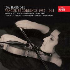 Ida Haendel : Ida Haendel: Prague Recordings 1957-1965 CD Box Set 5 discs