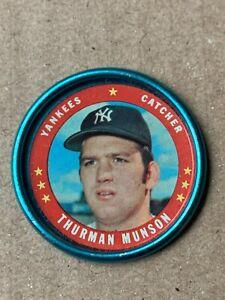 Thurman Munson 1971 Topps Baseball Coin # 118 New York Yankees  EXMT-NM