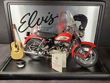 Franklin Mint Elvis Presley 1956 Harley Davidson Sportster Motorcycle Diecast