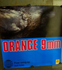 Orange 9 Mm 1994 2-Sided Promo Poster in mint condition