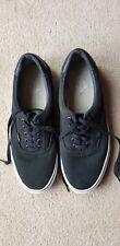 VANSMens Black Canvas Lace Up Shoes UK Size 11 - Excellent condition