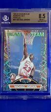1992-93 Stadium Club BEAM TEAM #1 Michael Jordan (Members Only Parallel) BGS 8.5