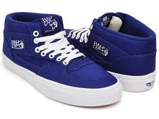 Vans HALF CAB Mens Shoes Size SZ 12 CANVAS BLUEPRINT BLUE WHITE Steve Caballero