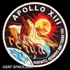 "Apollo 13 Spirit Commemorative 5"" Tim Gagnon ORIGINAL AB Emblem NASA SPACE PATCH"