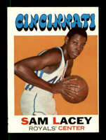 1971-72 Topps #57 Sam Lacey NM/NM+ RC Rookie 127547
