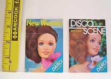 Vintage Kenner Covergirl Darcy Doll Original Cardboard Magazines