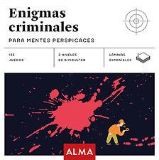 ENIGMAS CRIMINALES PARA MENTES PERSPICACES (CUADRADOS DE DIV
