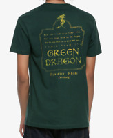 The Lord Of The Rings GREEN DRAGON TAVERN T-Shirt NEW Licensed & Official