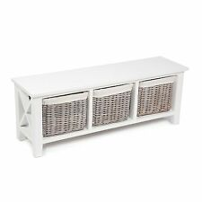 SHABBY CHIC  6 BASKET Cabinet With Cotton Linings chest of drawers 24HR SALE