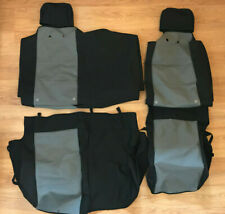 NEW OEM 2007-2015 Nissan Titan Rear Seat Covers Water Resistant  999N4-WQ1KC NOS