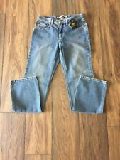 NWT Women's Express Size 5/6R Low Rise Bootcut Denim Blue Jeans Medium Wash