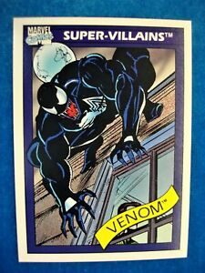 1990 MARVEL UNIVERSE/IMPEL MARVEL COMICS -SUPER VILLAINS -VENOM #73