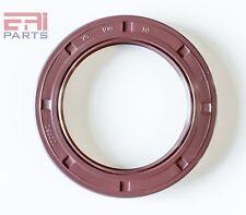 Oil Seal 70X85X10mm TC Metal Case w// NBR Coating EAI Double Lip w// Spring
