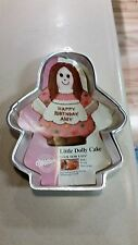 Wilton Cake Pan Mold Little Dolly Picture & Instructions #2105-9404 Vintage