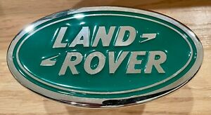 """Land Rover Chrome Tow Hitch Cover 1.25"""""""" New Genuine Land Rover LRK91695"""