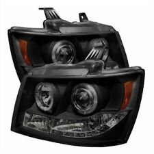 Spyder 5078346 Halo LED Projector Headlights Set for 2007-2014 Chevy Tahoe