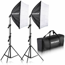Neewer 700w (2*85w Spiral E27 Bulbs) Studio Continuous Light Kit with 2 Softbox