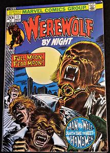 WEREWOLF BY NIGHT #11 (MARVEL, NOV 1973) BRONZE Higher Grade