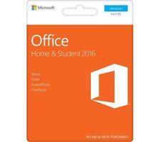 MS Microsoft Office 2016 Home & Student für Windows 32/64-Bit - Vollversion