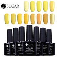 UR SUGAR UV Gel Nail Polish Yellow Series Soak off Color Gel Varnish Manicure