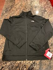 The North Face Men's LG Black 100 Cinder Full Zip Jacket