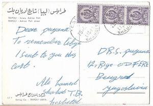 Kingdom of Libya Cyrenaica Shahatt 1965 postcard 1c.65