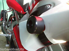 YAMAHA YZF600 YZF750 R6 FAIRING CRASH MUSHROOMS SLIDERS BOBBINS BUNG BLACK  R8C1