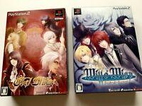 Lot 2 PlayStasion Will O` Wisp, Edel Blume SET JAPAN PS2 limited Box NTSC-J JP