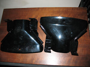 1957 Ford Thunderbird exhaust tips powder coated NOS Free Shipping     Box 100