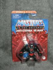 He-Man Masters of the Universe ~ Eternia Minis ~ ANTI-ETERNIA HE-MAN ~ MOSC MOTU