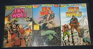 SKY WOLF #1-3 (VF/NM) Full Set! Air Fighters Eclipse 1988 Chuck Dixon Tom Lyle