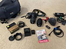 Nikon D3200 24.2 MP Digital SLR Camera - Kit w/ Zoom Lens and Podcaster Tools