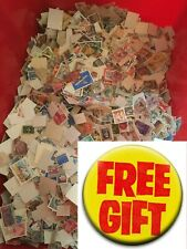 World Stamps. FREE GIFT Off paper. 50g. Approx 800 stamps, World and C/m. No GB